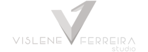 Logo Vislene Ferreira Studio light